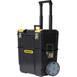 Ящик для инструментов Stanley с колесами Mobile WorkCenter 2-в-1 (1-70-327) ящик для инструментов stanley с колесами mobile workcenter 2 в 1 1 70 327