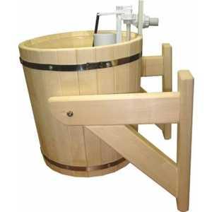 Обливное устройство Банные штучки ''Русский душ'' на 14л (33203) кедр от ТЕХПОРТ