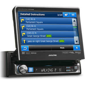Автомагнитола Alpine IVA-D511RB автомагнитола kenwood kdc 300uv usb mp3 cd fm rds 1din 4х50вт черный
