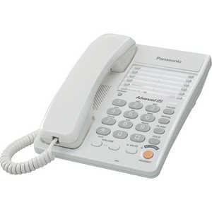 Проводной телефон Panasonic KX-TS2363RUW panasonic kx tg8061 rub dect телефон
