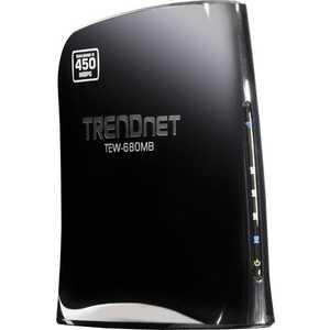 Маршрутизаторы и точки доступа TRENDnet TEW-680MB беспроводной маршрутизатор trendnet tew 640mb 802 11n 300 mbps 2 4 ггц 4xlan