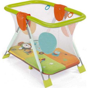 Манеж Brevi ''Soft and Play Mondocirco'' (зеленый/оранжевый/голубой/желтый) 587-342