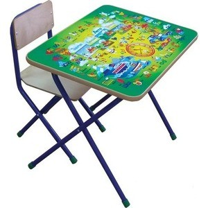 Комплект детской мебели Фея ''Алфавит'' (зеленый) 5693-3