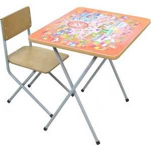 Комплект детской мебели Фея Алфавит (оранжевый) 5693-2 фея комплект детской мебели алфавит фея сиреневый