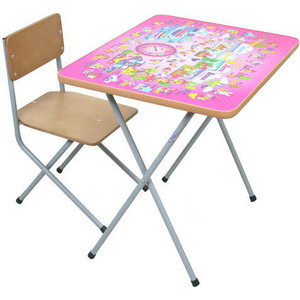 Комплект детской мебели Фея Алфавит (розовый) 5693-1 фея комплект детской мебели алфавит фея сиреневый