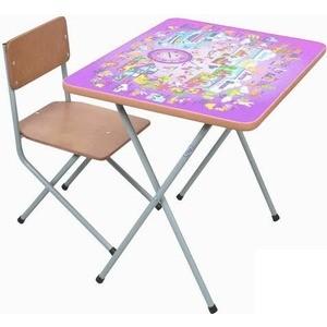 Комплект детской мебели Фея ''Алфавит'' (сиреневый) 5693-4