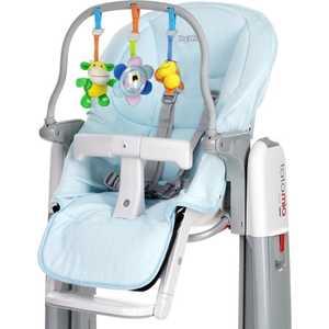 Комплект для стульчиков Peg-Perego ''Tatamia и Prima Pappa Newborn'' чехлы/игровая панель (голубой)