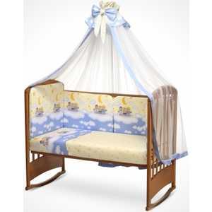 Комплект постельного белья Perina ''Аманда'' ''Ночка'' 3 предмета (голубой) А3-02.4