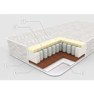 Плитекс Матрас в кроватку ''Bamboo sleep'' кокос+латекс (125х65х14см) бс-119-02