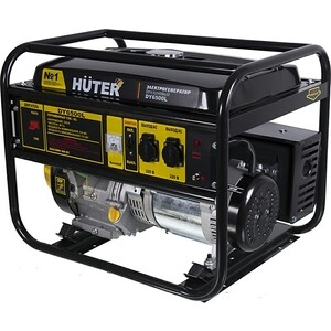 Купить генератор бензиновый Huter DY6500L (253591) в Москве, в Спб и в России
