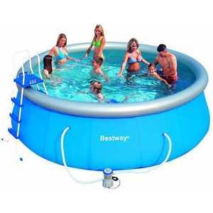 Купить надувной бассейн Bestway 4.57х1.22м (57148) (253661) в Москве, в Спб и в России