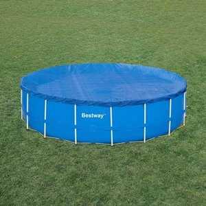 Крышка Bestway для каркасного бассейна 5.49 м (58039) тент intex 28041 для каркасного бассейна ultra frame 549см выступ 20см