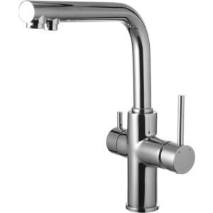 Смеситель для кухни Lemark Comfort с подключением фильтра (LM3060C) горки macyszynt toys лебедь большая с подключением воды