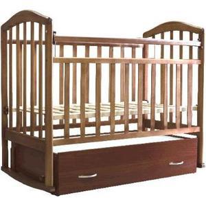 Кроватка Антел Алита-6 (орех) обычная кроватка антел алита 2 орех