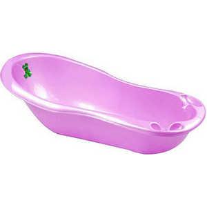 Ванночка Полимербыт ''Малыш'' 38л детская (розовый) С526