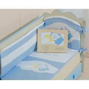 Комплект постельного белья Сдобина ''Мой маленький друг'' (голубой) 50.112
