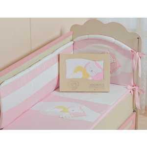 Комплект постельного белья Сдобина Мой маленький друг (розовый) 50.112 конверт для новорожденного сдобина мой маленький друг бежевый 50 115