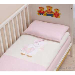 Купить комплект постельного белья Сдобина 3 предмета махра (розовый) 22.2 (254520) в Москве, в Спб и в России