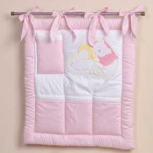 Сумка прикроватная Сдобина Мой маленький друг (розовый) 50.116 fairy сумка для пеленок и подгузников жирафик