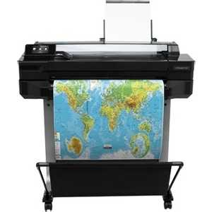 Плоттер HP DesignJet T520 24in e-Printer gzlspart for hp designjet 500 510 800 oem new printhead carriage assembly cover upper head plotter printer parts on sale