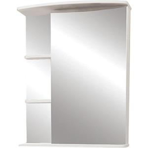 Зеркальный шкаф Меркана керса 01 55 см справа белое (7653)