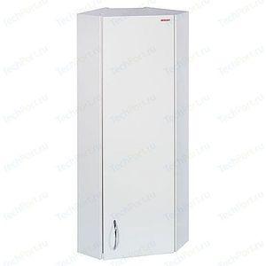 Шкаф Меркана навесной 30 см угловой правая белый (12490) шкаф угловой рамка мдф