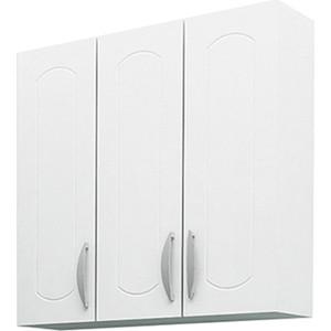 Шкаф Меркана навесной 60 см 3-х дверный белый (7200) недорого