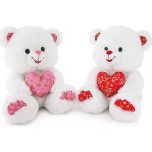 Lava Медведь с декоративным сердцем 24 см Звук: ''Как тебя я долго ждал'' Л863A