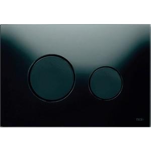 Панель смыва TECE TECEloop (9240657) стекло чёрное, клавиши чёрные панель смыва tece teceloop 9240657 стекло чёрное клавиши чёрные