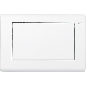Панель смыва TECE TECEplanus (9240312) белый матовый клавиша смыва geberit sigma 50 белый хром 115 788 11 5
