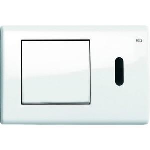 Панель смыва с инфракрасным датчиком TECE TECEplanus 230/12 В (9240362) белый глянцевый  tece teceplanus 6 v batterie 9240350 нержавеющая сталь