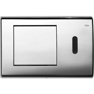 Панель смыва с инфракрасным датчиком TECE TECEplanus 6 V-Batterie (9240351) хром глянцевый клавиша смыва geberit sigma 50 белый хром 115 788 11 5