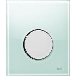 Панель смыва для писсуара TECE TECEloop Urinal (9242653) стекло зеленое, клавиша хром глянцевый лицевая панель tece teceloop modular 9240679 без клавиш стекло рубиновый