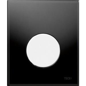 Панель смыва для писсуара TECE TECEloop Urinal (9242654) стекло черное, клавиша белая лицевая панель tece teceloop modular 9240679 без клавиш стекло рубиновый