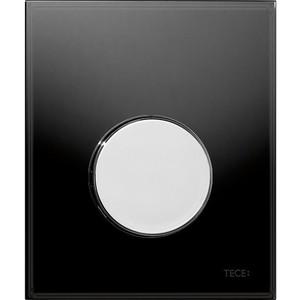 Панель смыва для писсуара TECE TECEloop Urinal (9242656) стекло черное, клавиша хром глянцевый