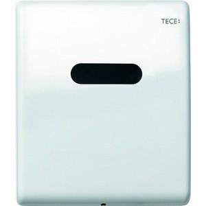 Панель смыва с инфракрасным датчиком для писсуара TECE TECEplanus Urinal 230/12 В (9242657) белый глянцевый  tece teceplanus 6 v batterie 9240350 нержавеющая сталь