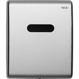 Панель смыва с инфракрасным датчиком для писсуара TECE TECEplanus Urinal 6 V-Batterie (9242350) , нержавеющая сталь клавиша смыва geberit sigma 50 белый хром 115 788 11 5