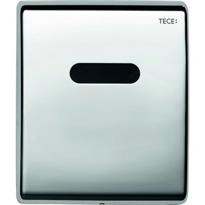 Панель смыва с инфракрасным датчиком для писсуара TECE TECEplanus Urinal 6 V-Batterie (9242351) хром глянцевый