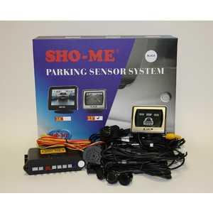 Парктроник Sho-Me KDR-25 black (камера+дисплей 3.6''+4 датчика)