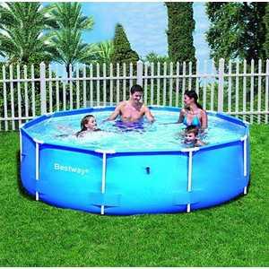 Каркасный бассейн Bestway 3.05х0.76м (56026)/56406 каркасный бассейн 366х122