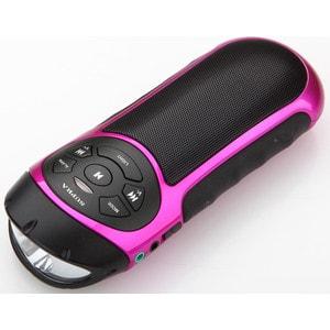 Портативная колонка Supra PAS-6277 pink аудио колонка s10 bluetooth mini tf samsung iphone htc
