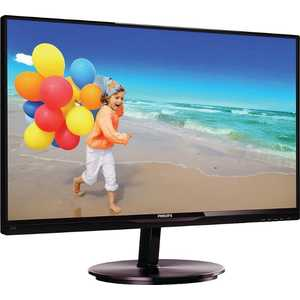 Монитор Philips 234E5QSB Black-Cherry philips she4205 black