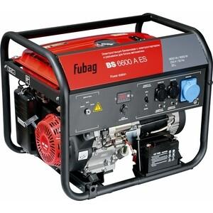Генератор бензиновый Fubag BS 6600 А ES бензиновый генератор fubag bs 2200
