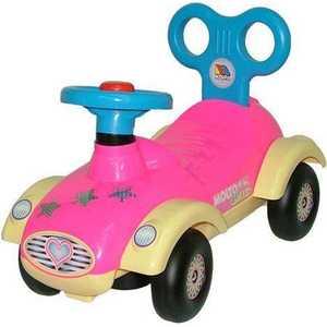 Каталка Molto Сабрина 2 для девочек без звука П-9219 каталка детская полесье полесье каталка сабрина 2 для девочек