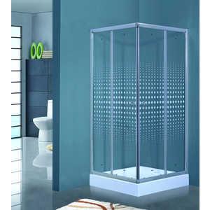 Душевой уголок Timo VIVA Lux TL-8002 Romb Glass 80х80х200 см душевой уголок timo viva lux tl 8002 fabric glass 80х80х200 см