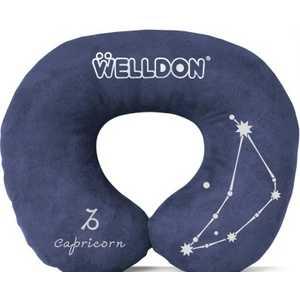 Подушка-валик Welldon под шею (navy)