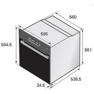 Электрический духовой шкаф Samsung BF641FGB от ТЕХПОРТ