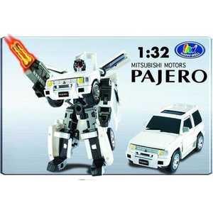 Трансформер Happy Well 52020 Pajero со светом 1:32 в коробке