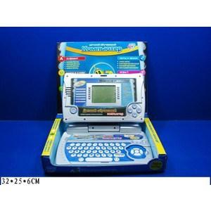 Joy Toy Компьютер 7006 обучающий, на батарейках, в коробке 32х25х6см vintage designer 100