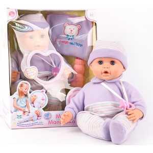 Joy Toy Кукла 5230 Пупс ''Дочки-Матери'' (46 см), функциональная, на батарейках, в коробке 38х22х30 см